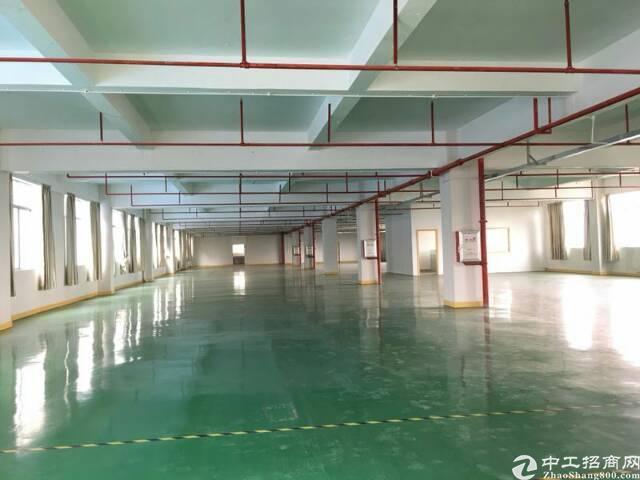 坪山大工业区 3楼带装修厂房1200平米去租