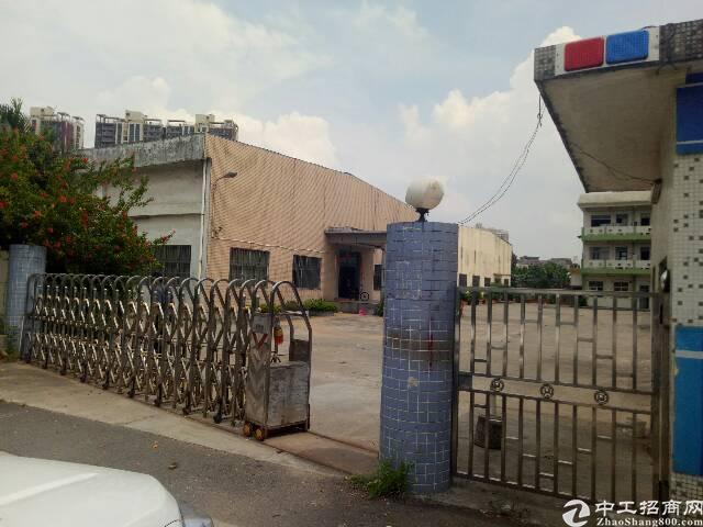 东莞南城城区独院单一层厂房