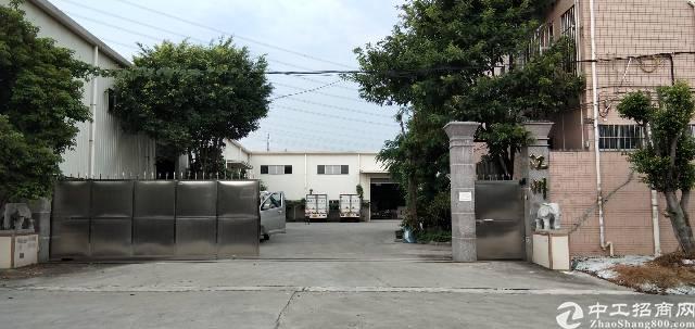 虎门镇龙眼村附近环莞快速旁新出单一层厂房3600平方