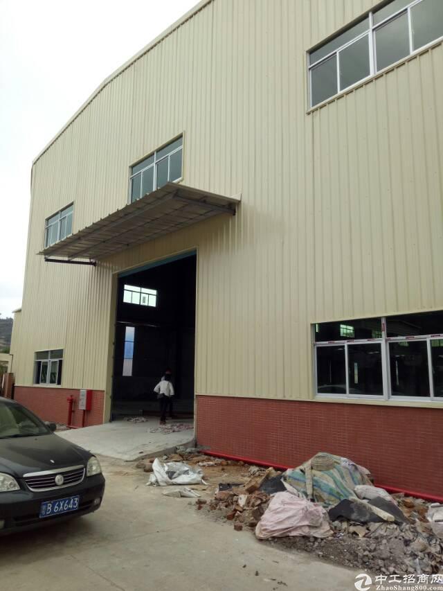 坑梓原房东钢结构厂房出租9米高