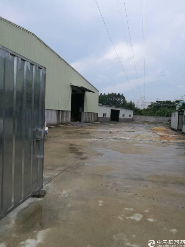 高埗镇独门独院钢构厂房3800平对外招租!