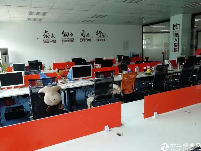 龙华大浪商业中心新出850㎡精装修标准办公厂房,园区形象好!