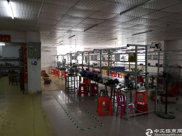 横岗 六约塘坑地铁站附近新出300平方精装修电子厂出租!