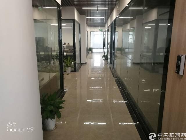 龙胜地铁站附近新出办公楼出租200-2000平,大小可分租
