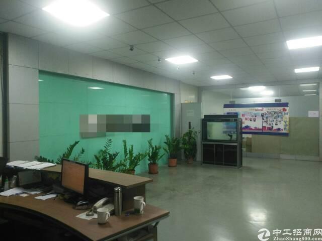 福永新和新出3:4楼各1900平方带豪华装修电子厂房