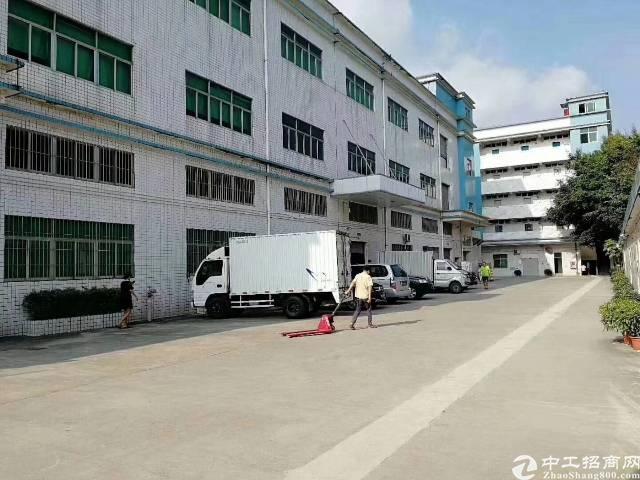 公明长圳8100平方独门独院厂房带万级无尘车间出租!