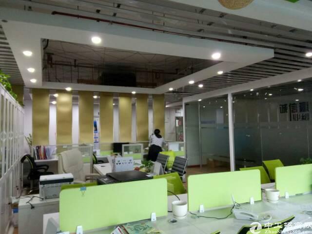 东莞南城160平米现成装修办公室出租