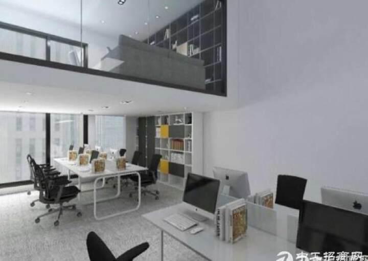龙岗中心城CBD高端商务群超大落地窗拎包入驻直租图片5