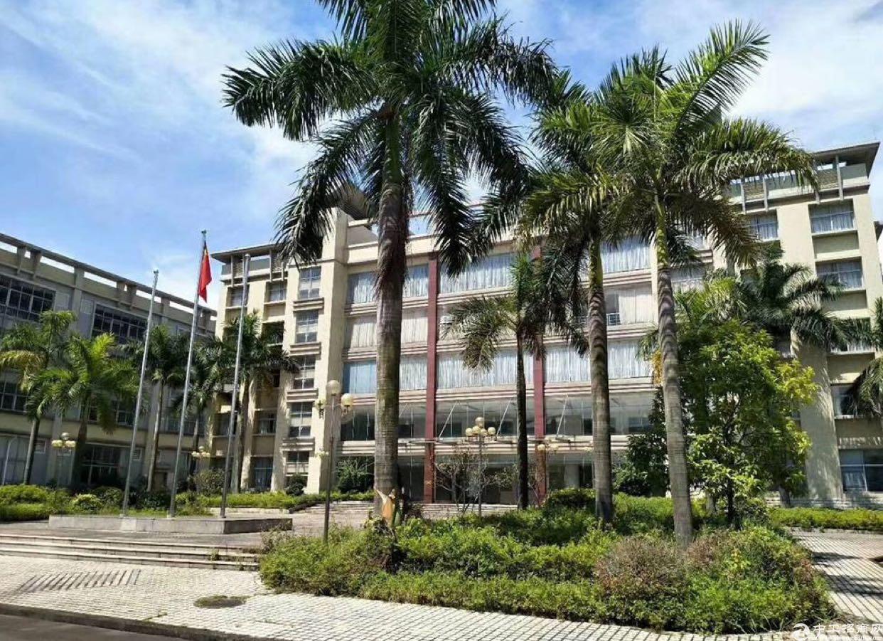 广州增城靠近东莞56000平米花园式独院厂房出售