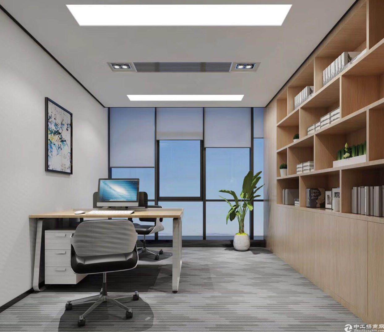 南城浙商大厦写字楼招租,可按提供的装修风格装修