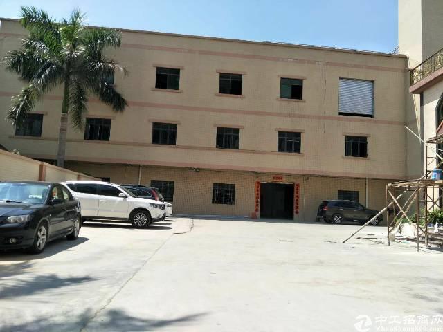 企石镇原房东独院标准厂房1-3层3000平方