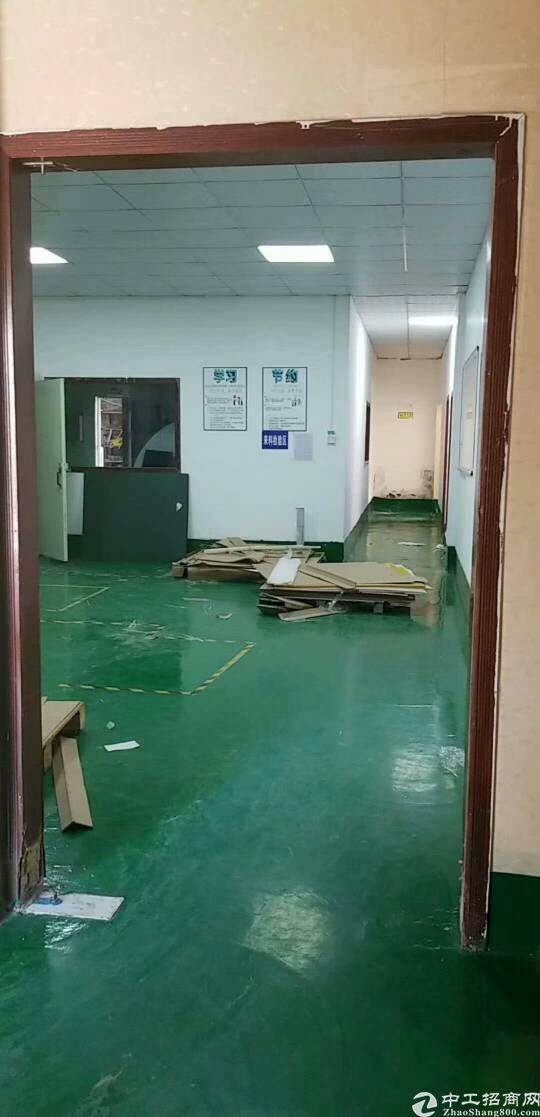公明镇合水口村新出楼上500平方精装修厂房出租。