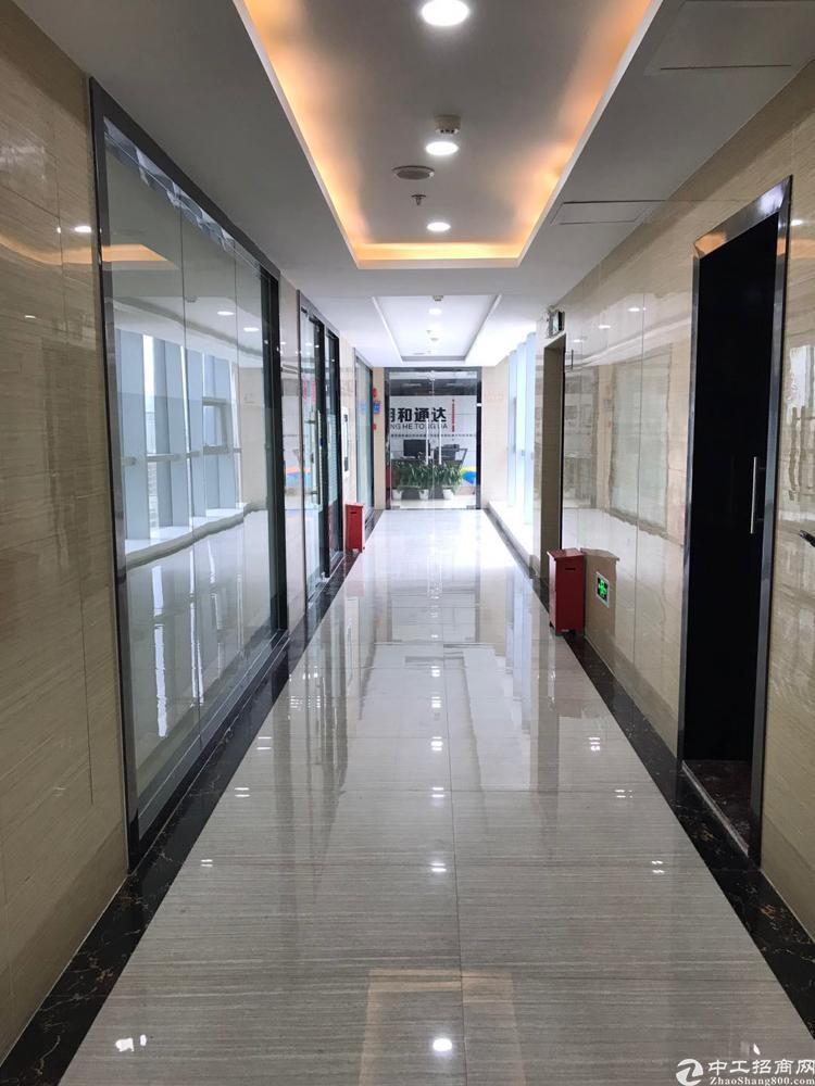 出租福永最高甲级写字楼精装修带红本业主直租。