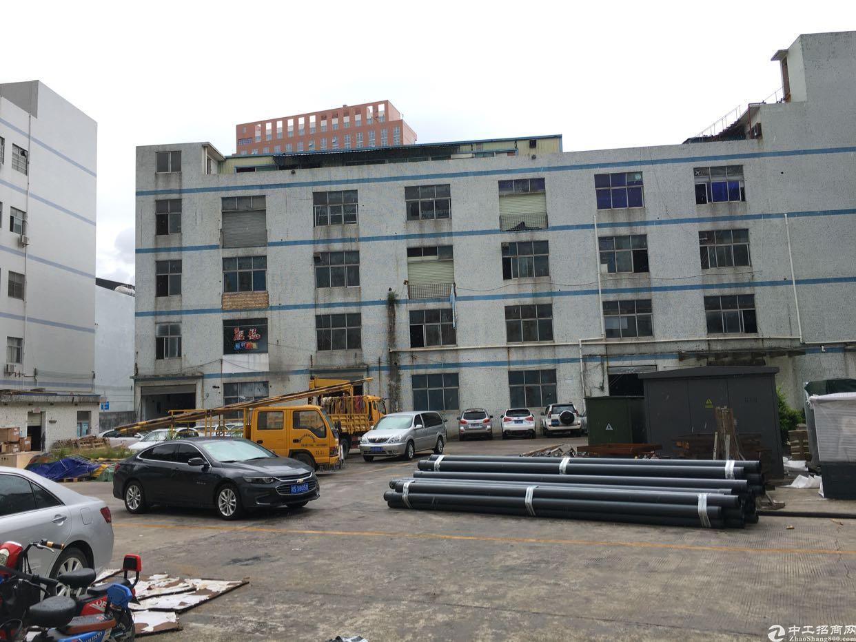 坂田杨美附近新出独院厂房1-4层8780平方大小分租