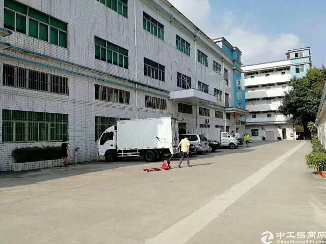公明镇南光高速出口附近分租楼上一整层厂房出租