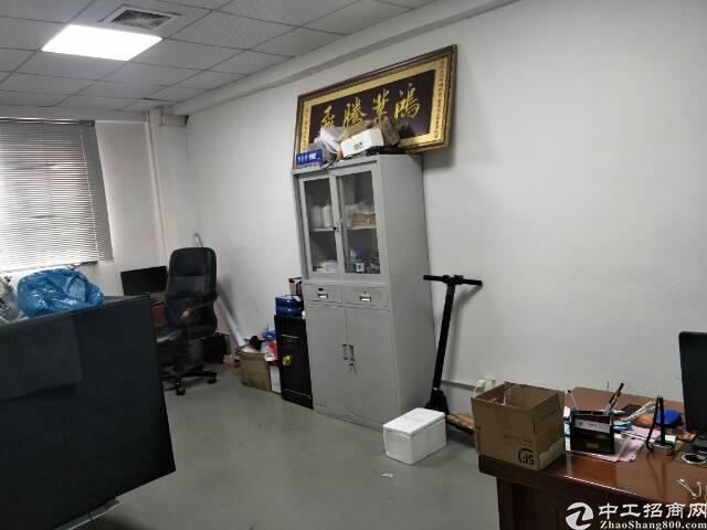 福永塘尾楼上600平米精装修厂房出租