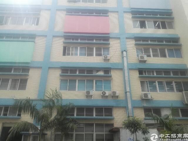 黄江镇新出楼上2900平厂房招租,环境好,带喷淋