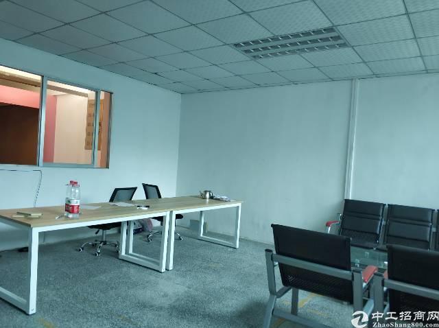 横岗镇四联社区一楼厂房250平招租精装修办公室28元每平