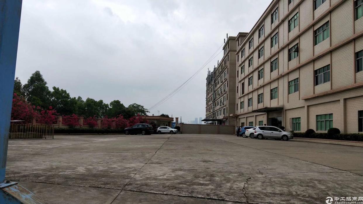 布吉新出8400平独栋厂房。红本,消防喷淋,配套宿舍食堂