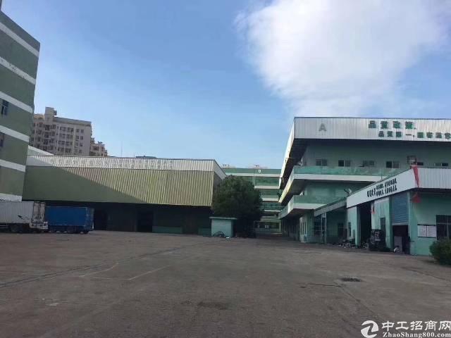 龙华清湖地铁口附近新出一楼厂房13000平,可做任何行业