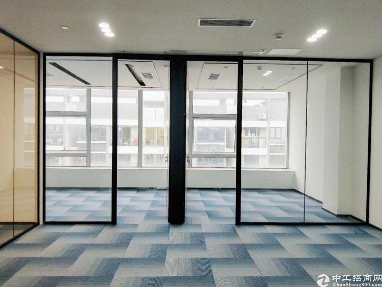 福永后瑞地铁口,精装修写字楼200平业主直租