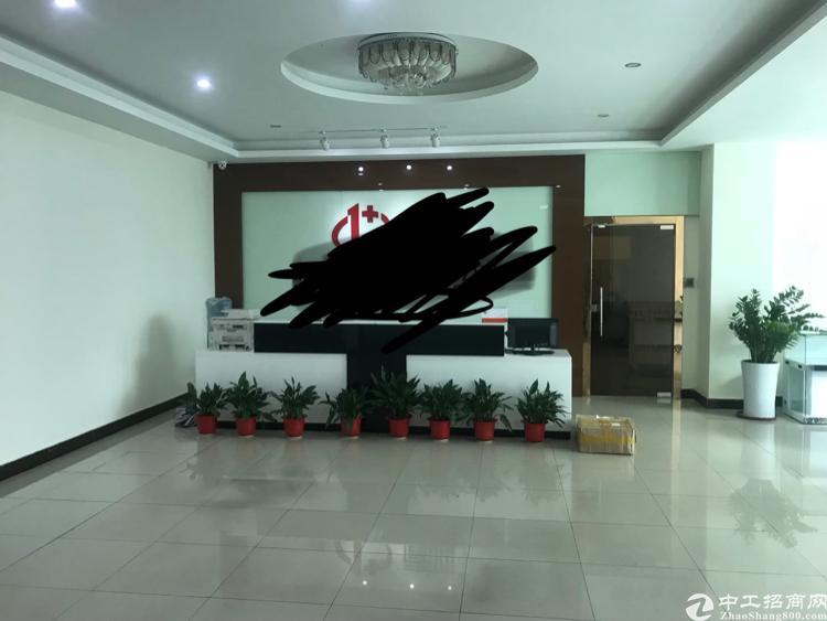 大浪华宁路新百丽附近花园式厂房三楼1400平方豪华装修