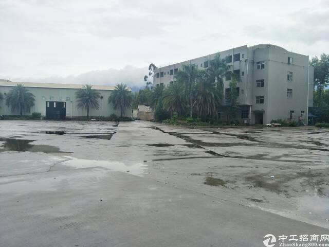 惠州博罗福田超大空地单一层4300平方招租