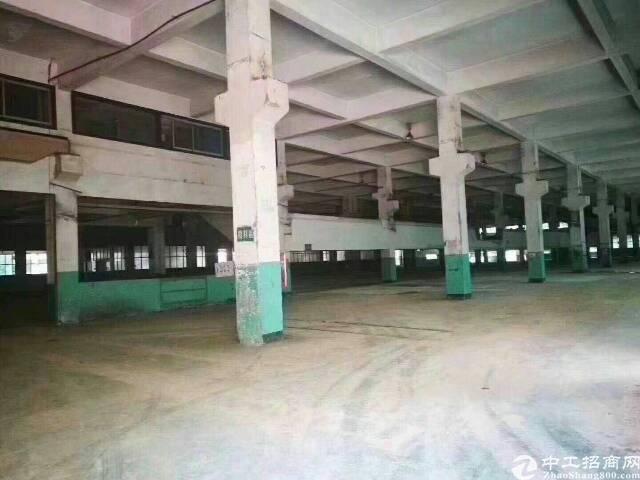 龙华清湖两万平一楼带牛角厂房出租