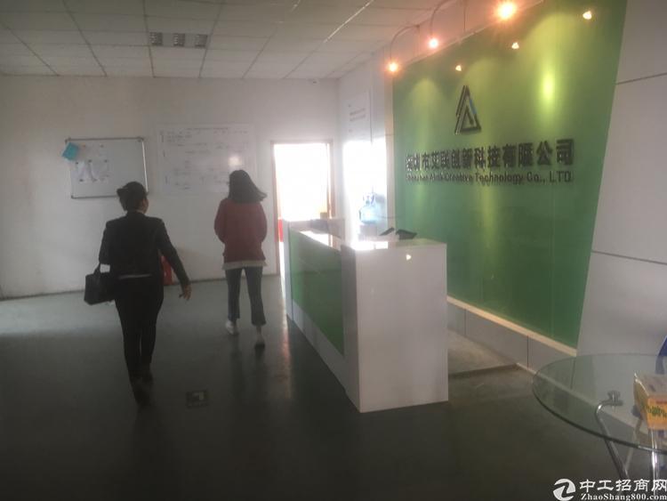 福永新河新出楼上1500平方厂房出租-图3