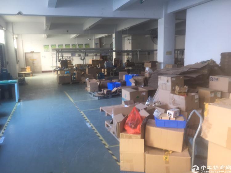 福永新河新出楼上1500平方厂房出租-图8