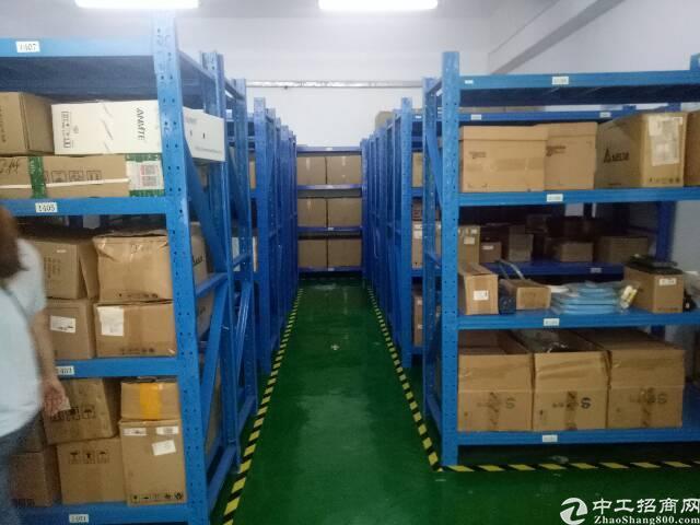 龙华大浪同胜创业大厦新出楼上350平带装修厂房招租