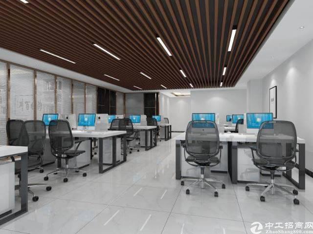 宝安生态产业综合体精装甲级写字楼218平起租