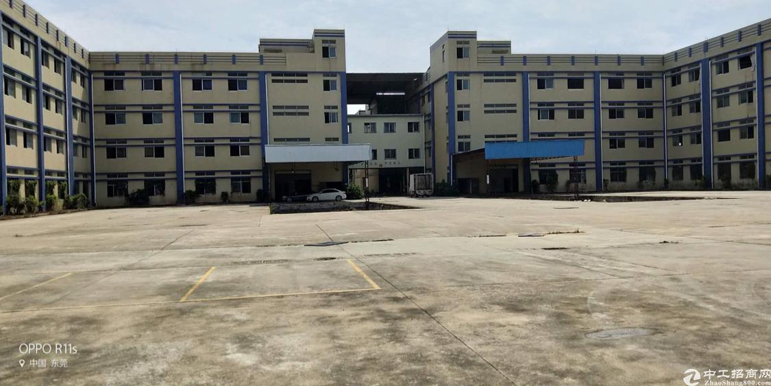 大岭山镇新出标准厂房1-4层分租6000平方