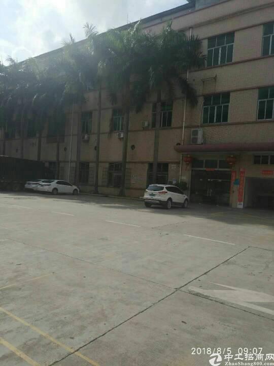 平湖三楼标准厂房3100平米招租高4.5米空地大可办环评