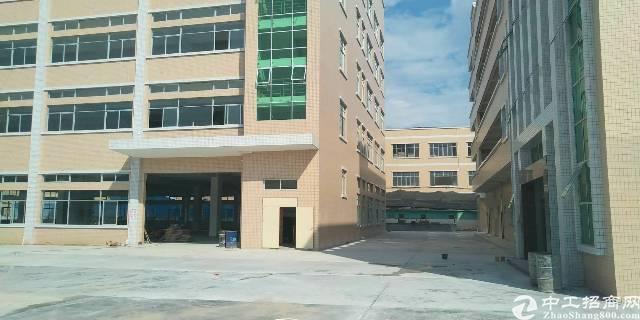 企石镇原房东独院标准厂房1-5层8000平方带消防喷淋