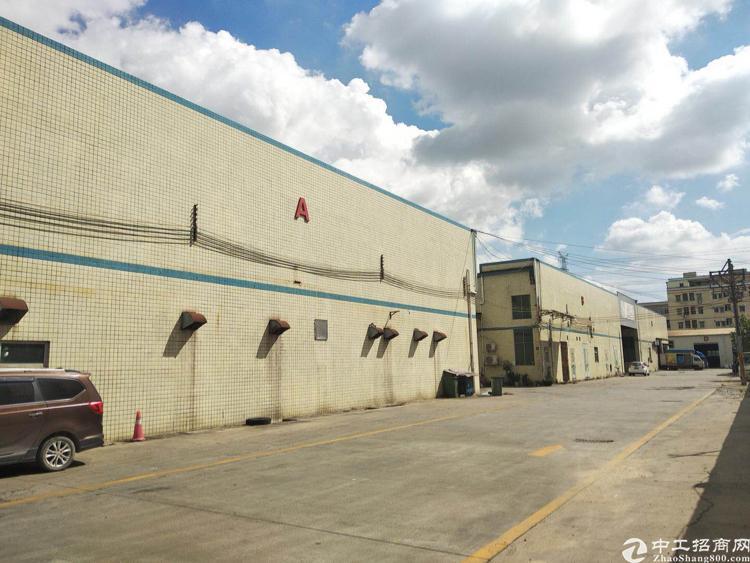 观澜单一层标准厂房滴水8米5000独栋招租