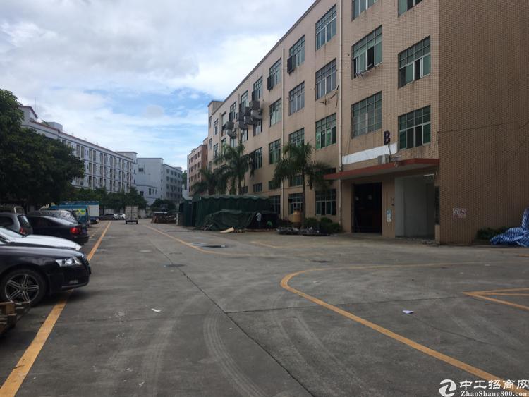 观澜章阁工业园一楼1500平米空地2000平
