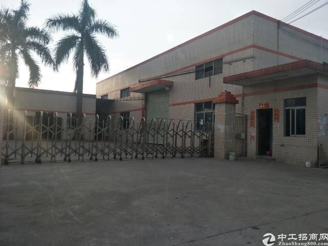 成熟工业区国有证单层厂房3600平米出售