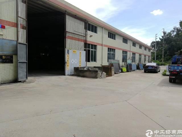 常平镇新出单层带行车钢构厂房
