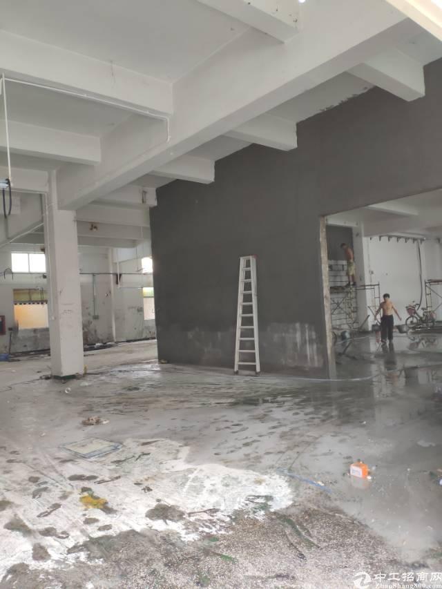 龙岗坪地大型工业区红本厂房6600平方可分租
