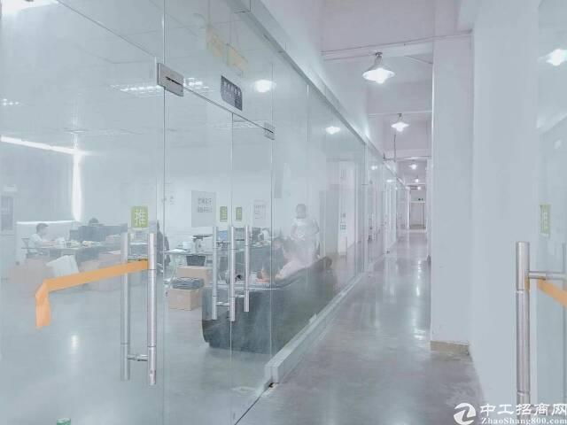 公明龙大高速出口新出楼上4800平方带装修厂房出租