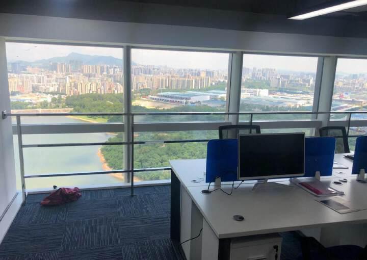 龙岗中心城CBD高端商务群超大落地窗拎包入驻直租图片3
