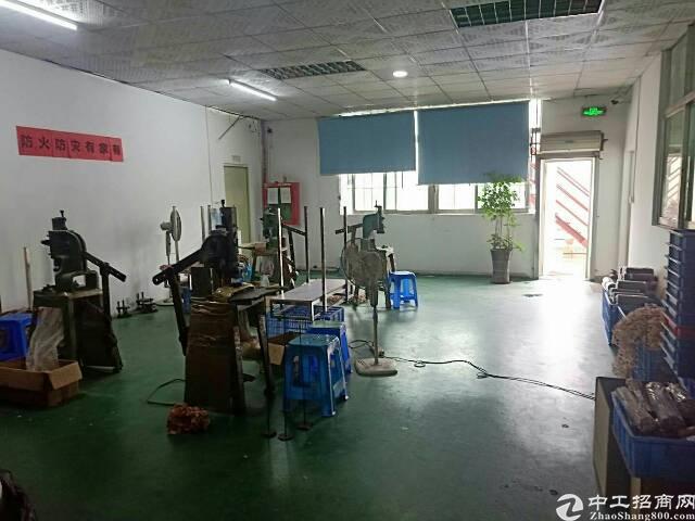 松岗原房东重工业厂房1000平米带装修厂房出租