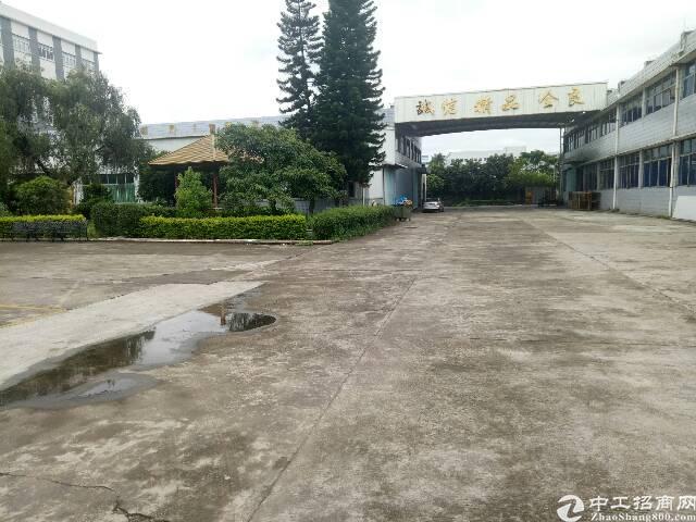 虎门镇原房东花园式厂房实际面积分租1200平方