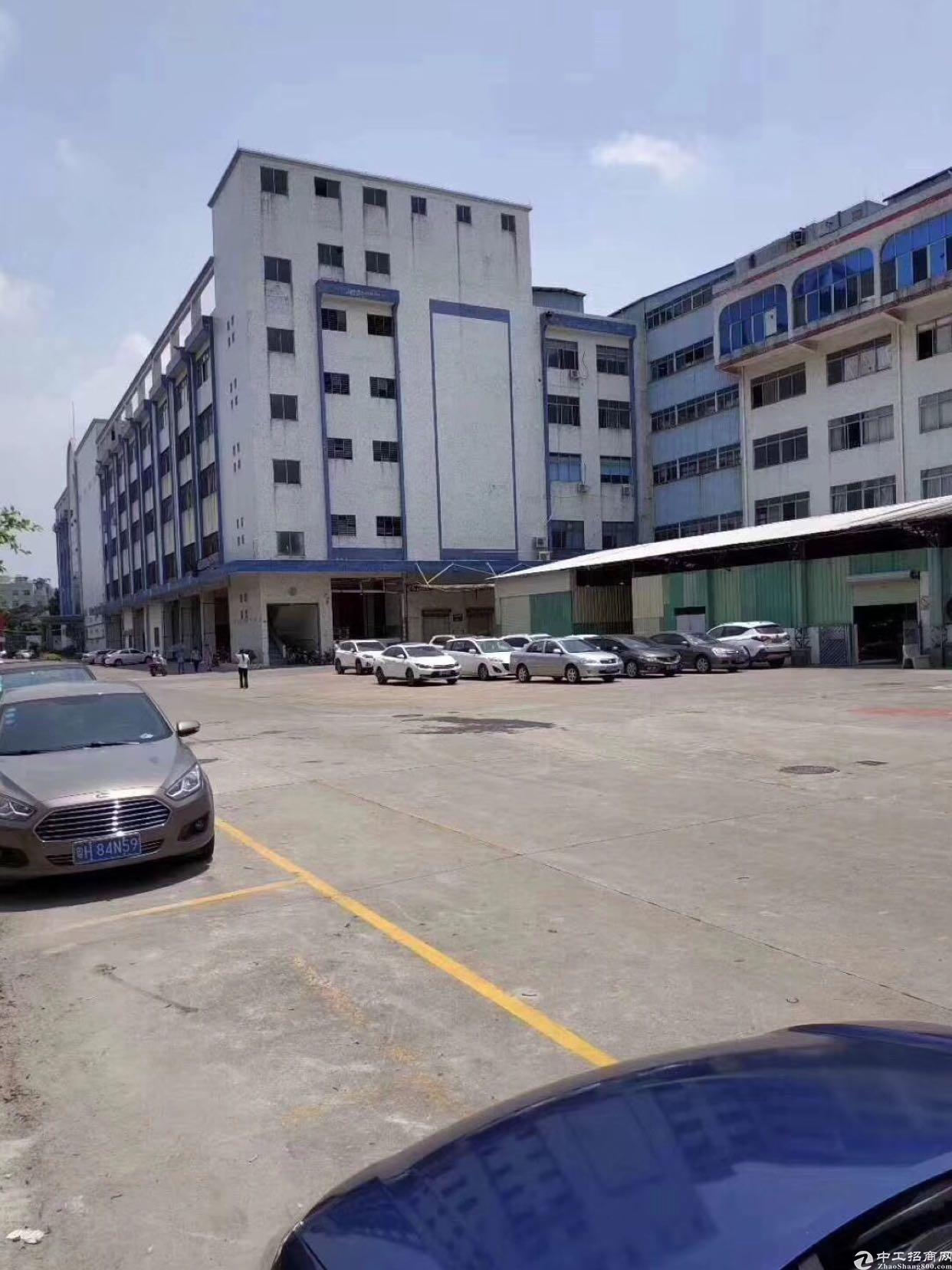 业主急租工业园区一楼带牛腿层高6米电大形象佳