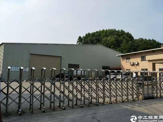 惠州市沥林镇新出独院钢构厂房招租