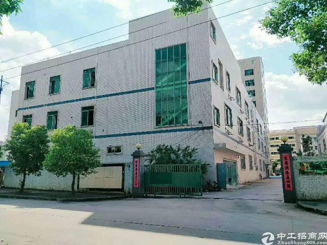 平湖华南城边上新出二楼980平方原房东厂房招租