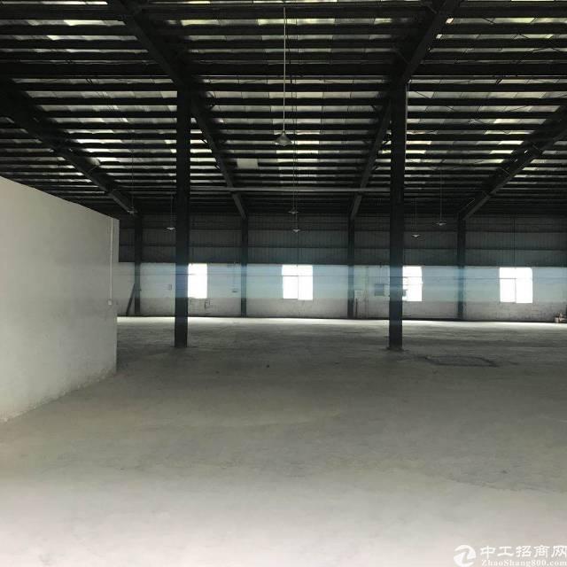 惠州小金口工业区内独院1500平钢构厂房出租!