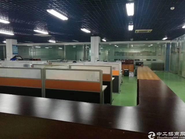 龙华梅关高速出口新出楼上带装修厂房出租