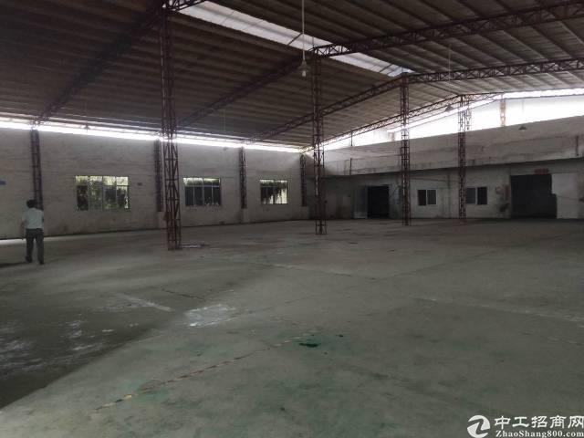 茶山镇新出出租小独院,单一层厂房2000㎡,宿舍办公620㎡